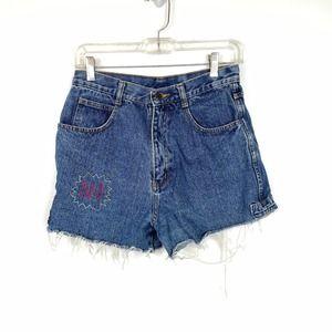 Vintage Weekend Cutoff High Waisted Shorts